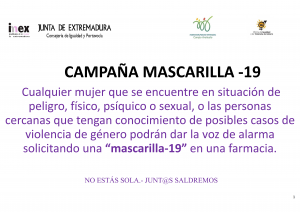 CAMPAÑA MASCARILLA -19