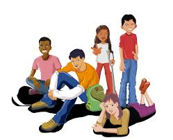 adolescentes-sentados