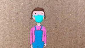 """'Carola Mascarilla': videocuento sobre una niña perpleja con tan """"incómodo complemento"""""""