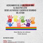 CONFERENCIA ONLINE JUNTO CON LA ASOCIACIÓN LGTBIpol