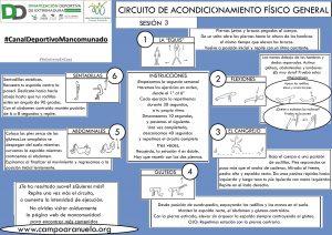 CIRCUITO DE ACONDICIONAMIENTO FÍSICO GENERAL Sesión 3