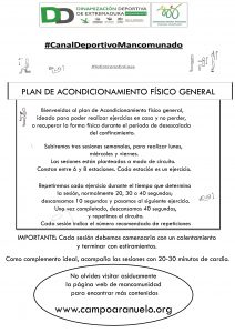 Plan de Acondicionamiento Físico General