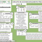 CIRCUITO DE ACONDICIONAMIENTO FÍSICO GENERAL Sesión 6