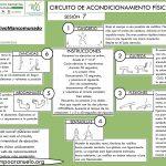 CIRCUITO DE ACONDICIONAMIENTO FÍSICO GENERAL Sesión 7