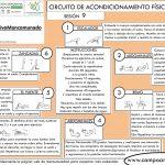 CIRCUITO DE ACONDICIONAMIENTO FÍSICO GENERAL Sesión 9