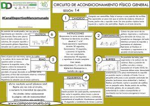 CIRCUITO DE ACONDICIONAMIENTO FÍSICO GENERAL Sesión 14