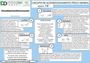 CIRCUITO DE ACONDICIONAMIENTO FÍSICO GENERAL Sesión 19