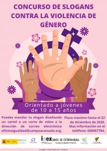 CONCURSO DE SLOGANS CONTRA LA VIOLENCIA DE GENERO