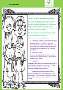 26 DE JULIO FELIZ DÍA DE LOS ABUELOS !!!!